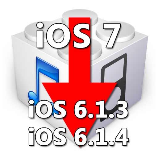 Как вернуть старую версию прошивки iOS 6.1.3 или iOS 6.1.4