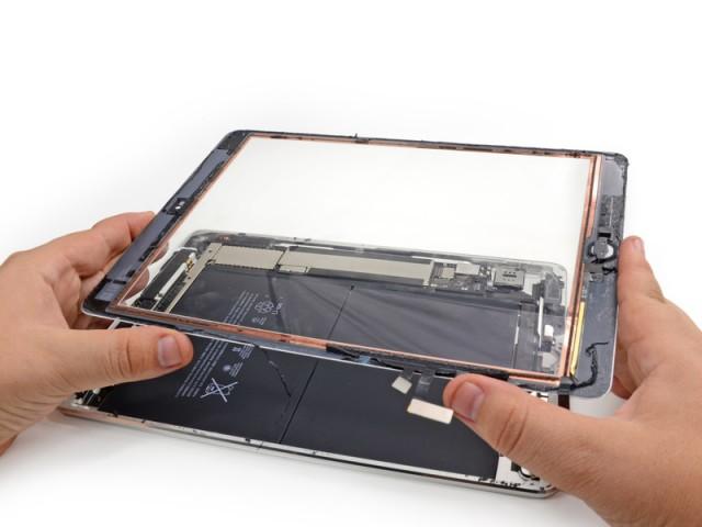 Ремонтопригодность iPad Air