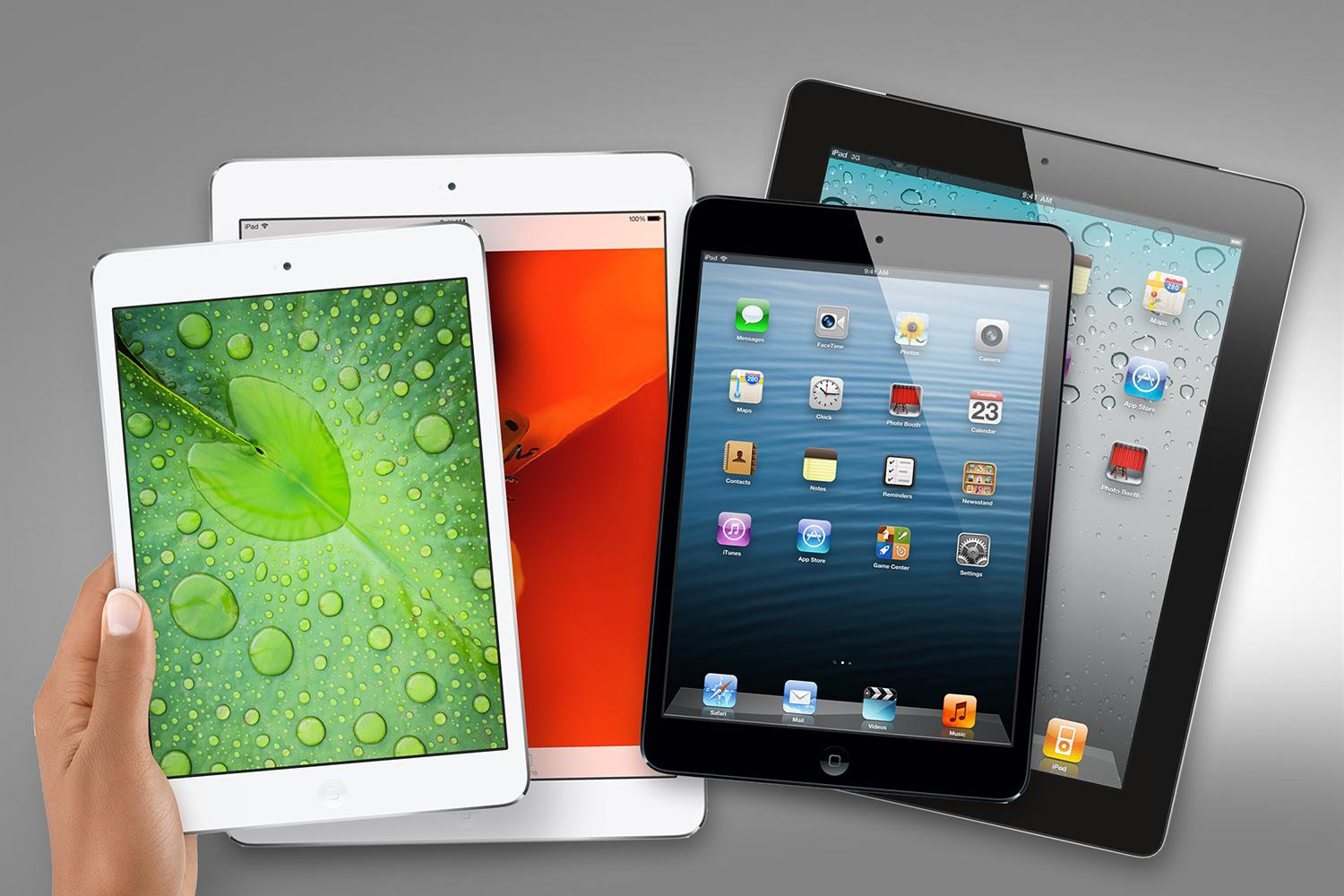 ipad-mini and ipad-air