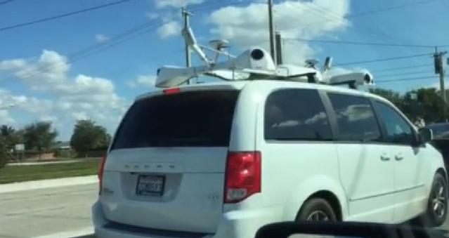 Загадочный автомобиль Apple запечатлели на видео