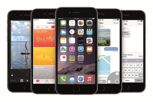 iOS 8.2 стала доступна для загрузки всем пользователям техники Apple