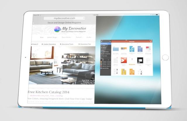 12,9-дюймовый iPad Pro может получить поддержку мыши ипорт USB 3.0