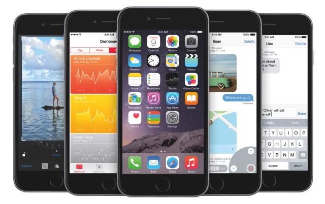 iOS 8установлена на81% мобильных устройств Apple
