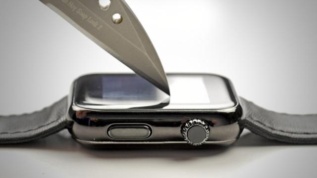 Легколи поцарапать экран Apple Watch?