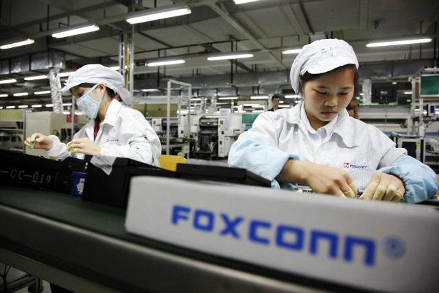 Вапреле Foxconn получил рекордную прибыль благодаря iPhone 6