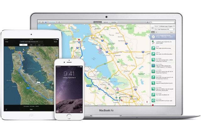 TomTom ивпредь будет поставлять Apple картографические данные