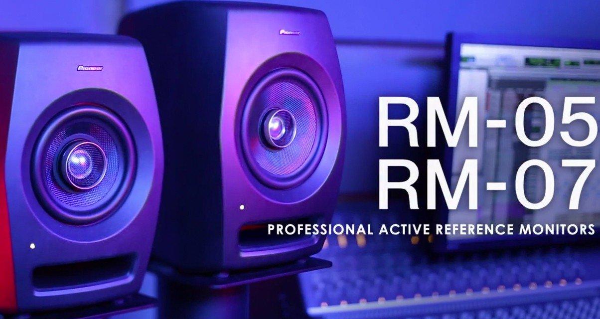 Pioneer DJ объявляет о запуске новой серии студийных мониторов RM