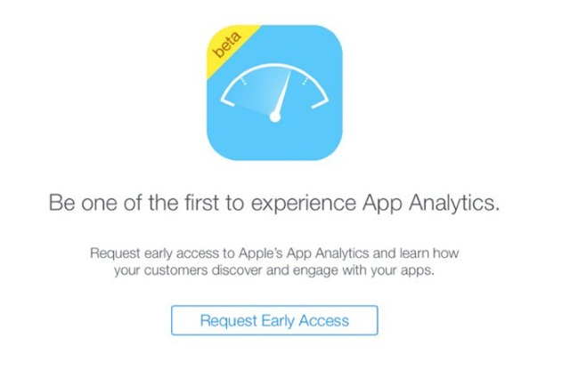 Первый взгляд нановый инструмент Apple App Analytics