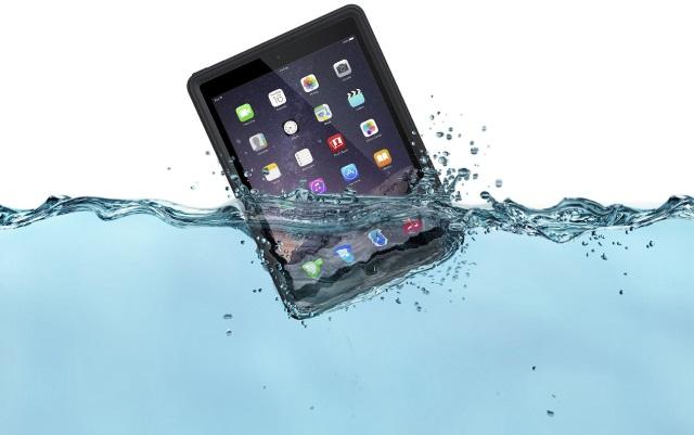 Lifeproof Nuud— водонепроницаемый чехол для iPad Air 2