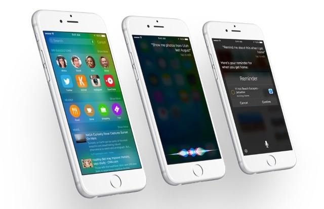 iOS 9beta 1уступила iOS 8.3в быстродействии