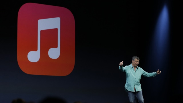 Стоимость подписки нановый музыкальный сервис Apple составит $10в месяц