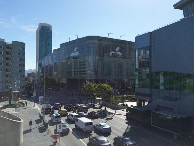 Apple начала подготовку выставочного центра Moscone West кWWDC 2015