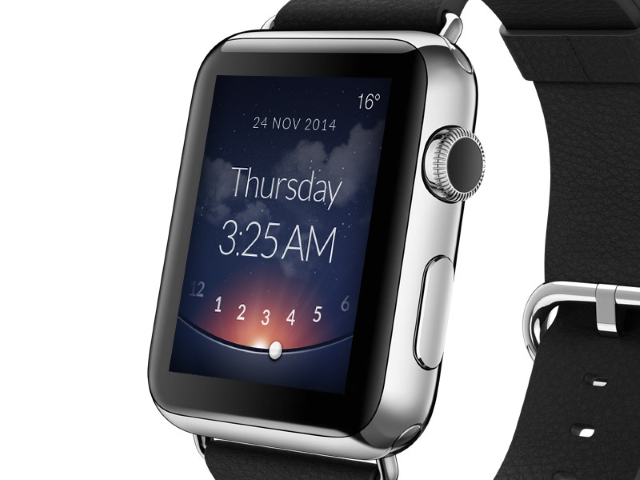 Как установить будильник наApple Watch?