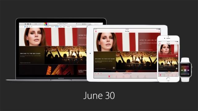 iOS 8.4с обновленным приложением Музыка выйдет 30июня