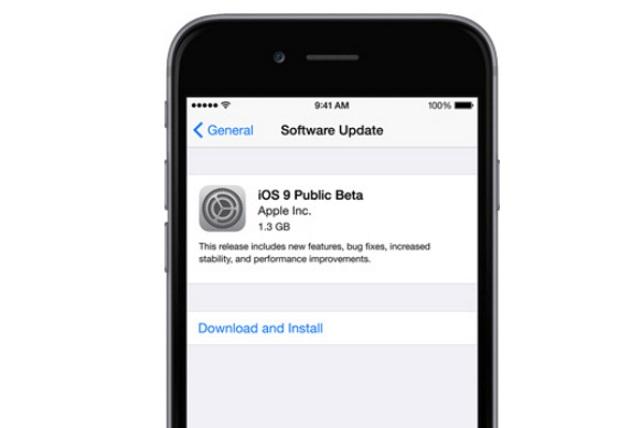 Apple выпустила первую публичную бета-версию iOS 9