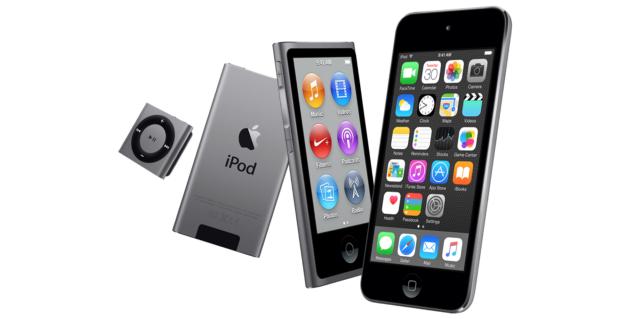 Слух: Apple анонсирует новые модели iPod Touch, nano и shuffle 14 июля