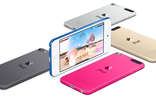 iPod Touch 6Gслабее iPhone 6попроизводительности