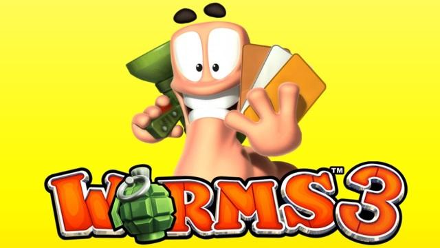 Worms3— лучшее приложение недели помнению редакции App Store