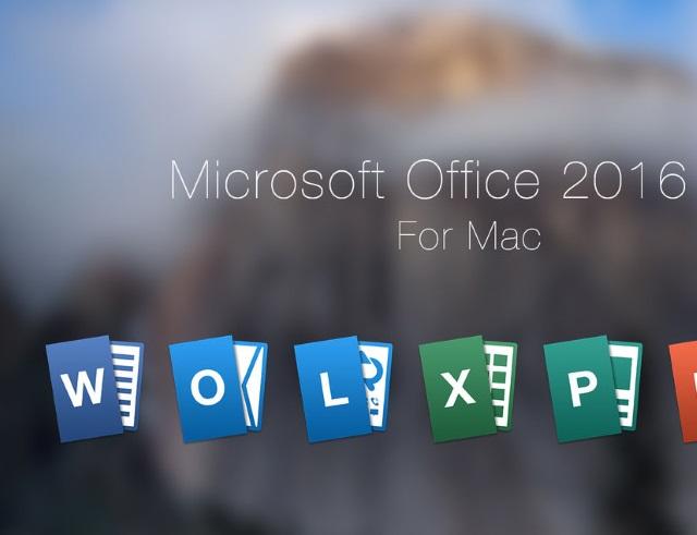 Состоялся релиз Microsoft Office 2016 для Mac
