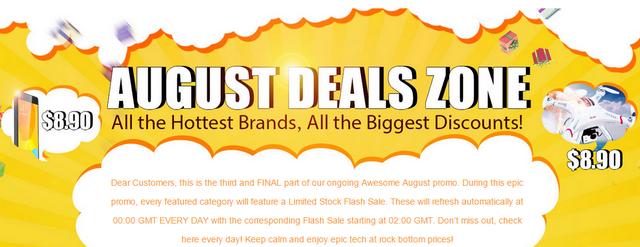 GearBest провожает летограндиозной распродажей