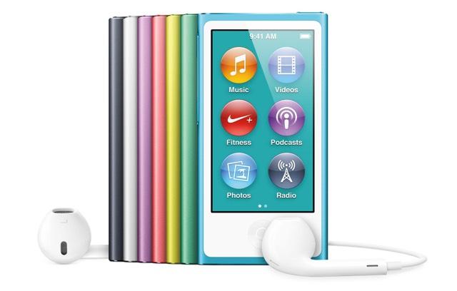 iPod nano 7Gen получил новую прошивку