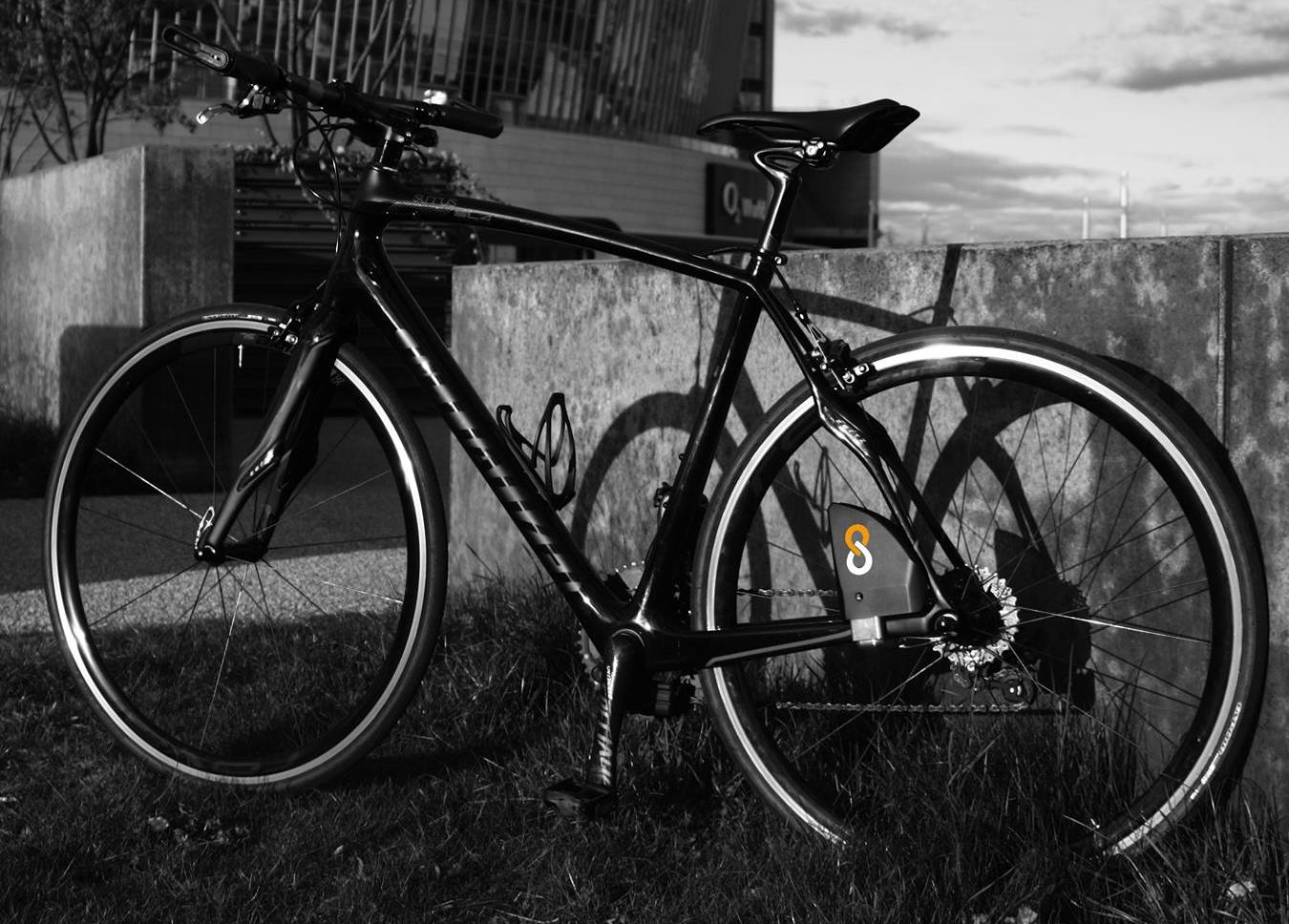 Противоугонный интеллектуальный замок для велосипеда Lock8