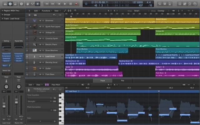 Apple выпустила обновления для Logic Pro X и MainStage 3