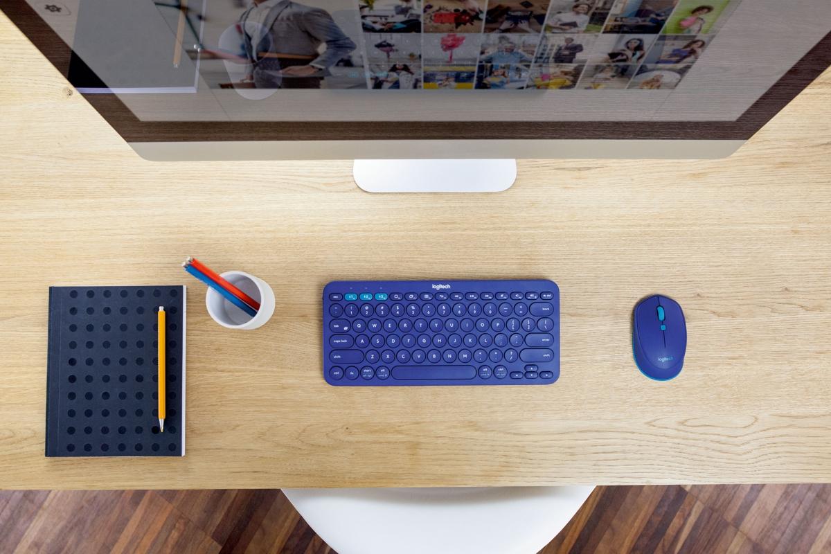 Универсальная клавиатура Logitech K380 Multi-Device Bluetooth и мышь Logitech M535 Bluetooth