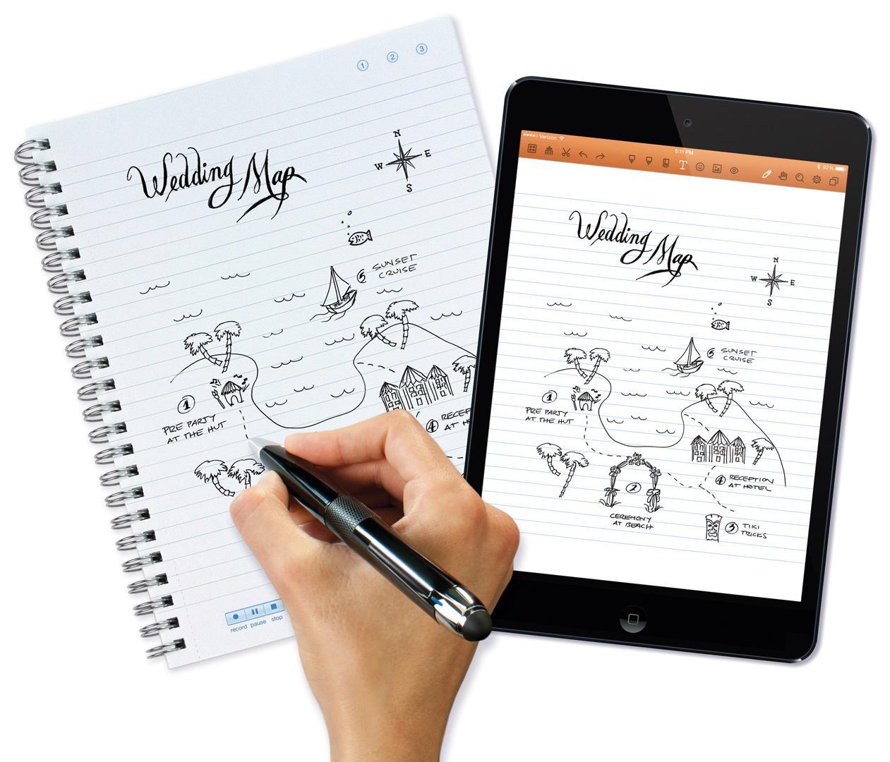 Интеллектуальная ручка Livescribe Sky Smartpen