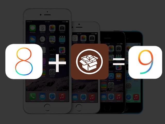 Как превратить iOS 8в iOS 9при помощи твиков изCydia