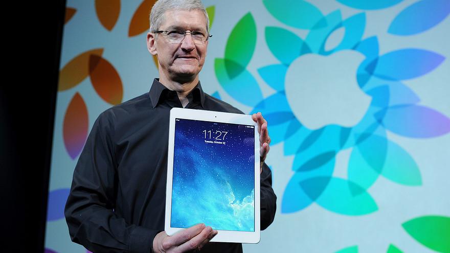 Apple не верит в успех iPad Pro