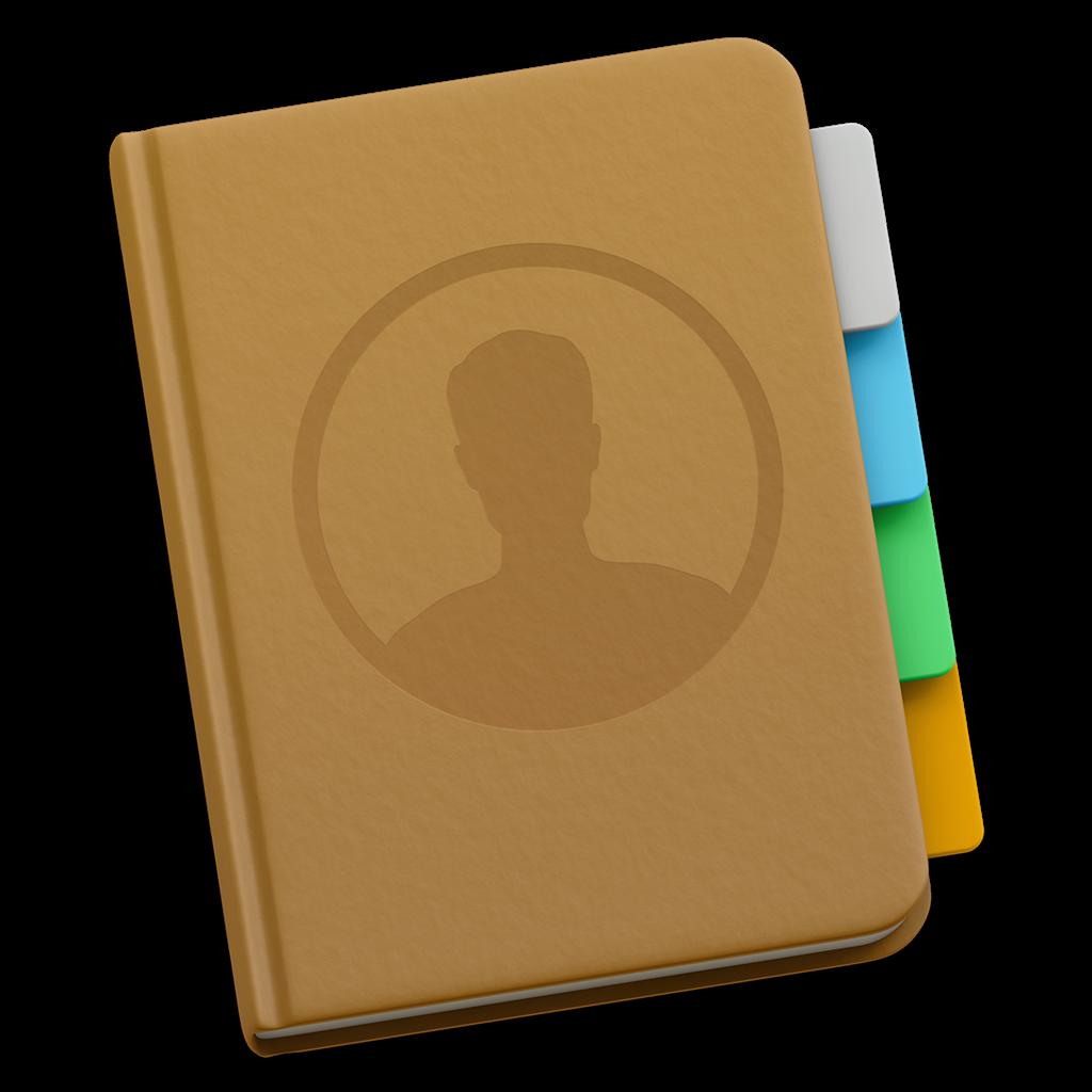 экспорт контактов из Mac OS X