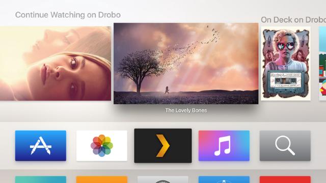 Официальный клиент Plex появился вtvOS App Store