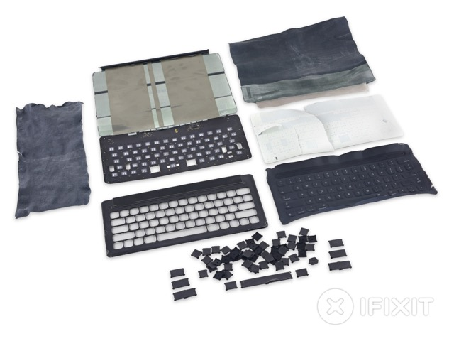 iFixit добрался до Smart Keyboard для iPad Pro