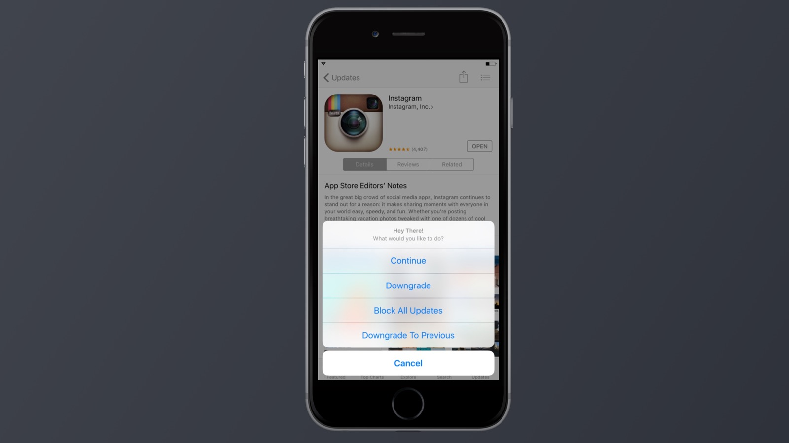 App Admin позволит заблокировать обновления приложений в App Store