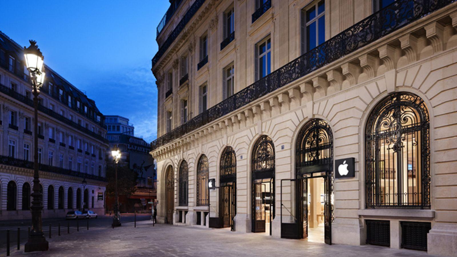 Apple планирует открыть новый розничный магазин на Елисейских Полях
