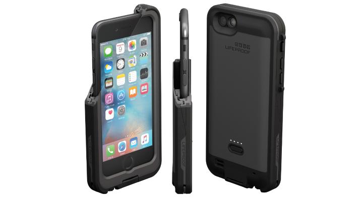 LifeProof выпустила водонепроницаемый чехол совстроенным аккумулятором для iPhone 6Plus иiPhone 6sPlus