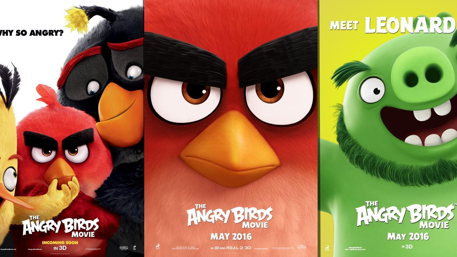 Официальный трейлер «Angry Birds в кино»