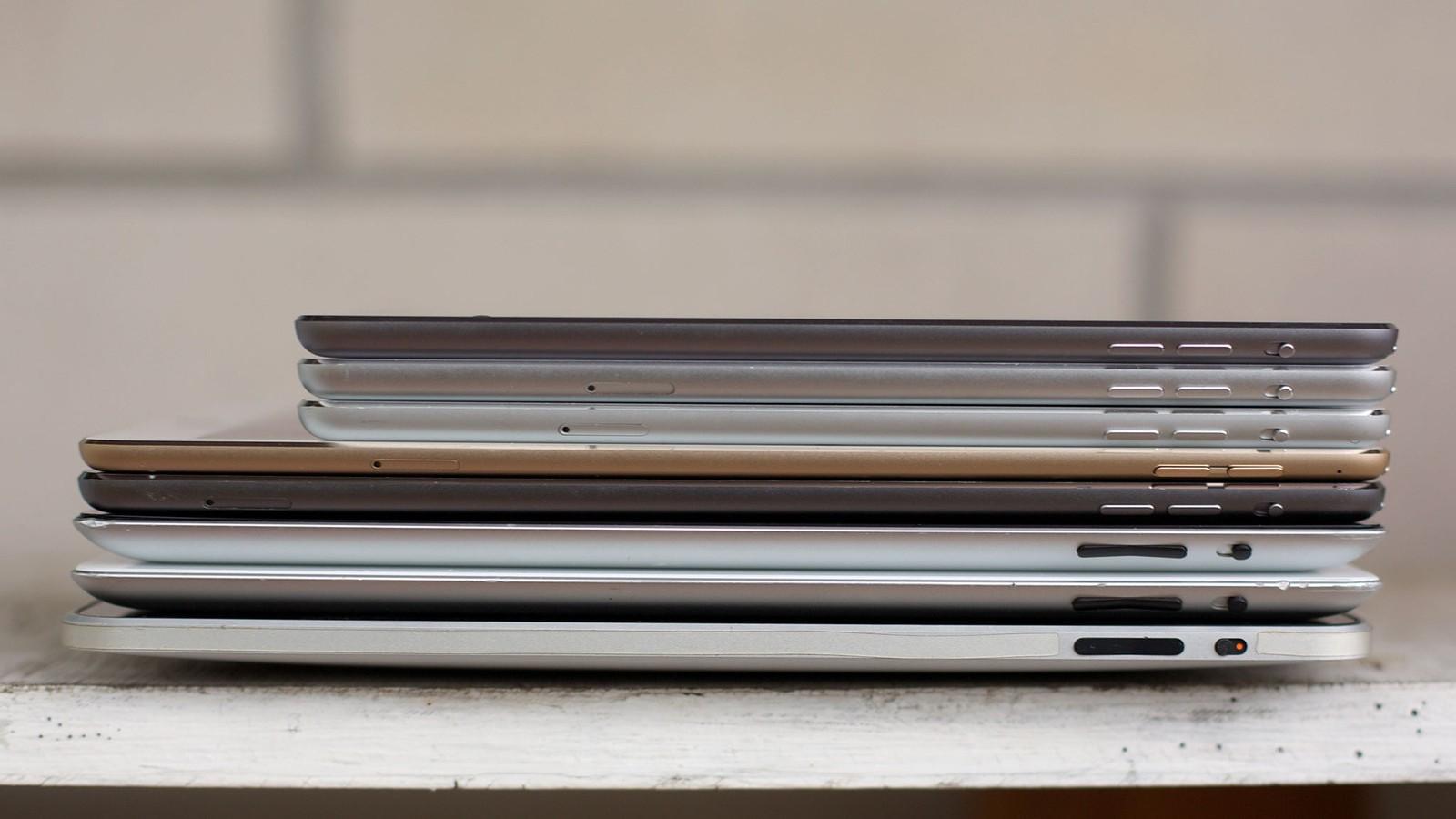 iPad: история сквозь года