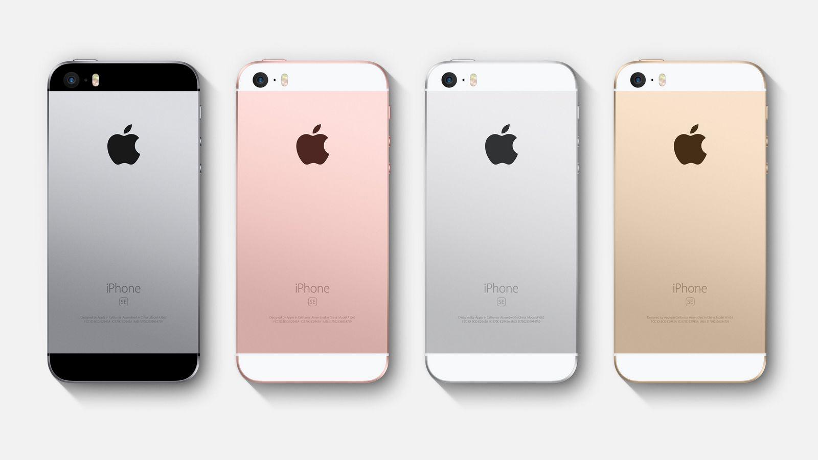 Запасы iPhone SE в российском онлайн-магазине иссякли за несколько часов