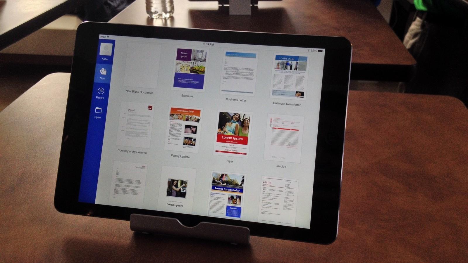 Apple начала продажи пакета Office 365 вместе с новым iPad Pro