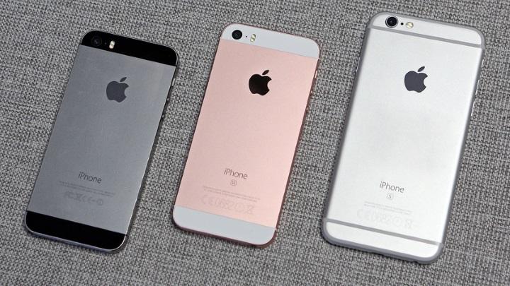 Детальное сравнение iPhone SE, iPhone 6s и iPhone 5s
