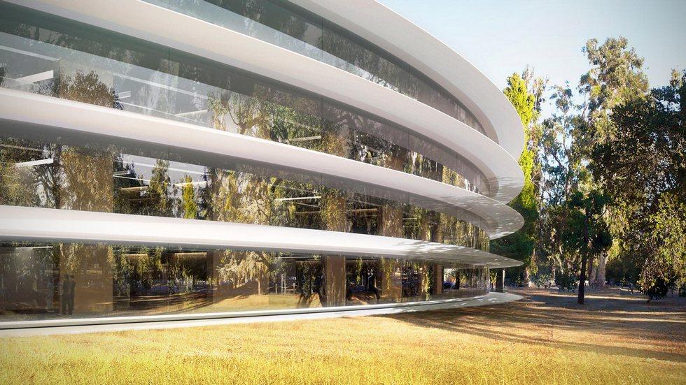 Чем еще удивит Apple Campus 2