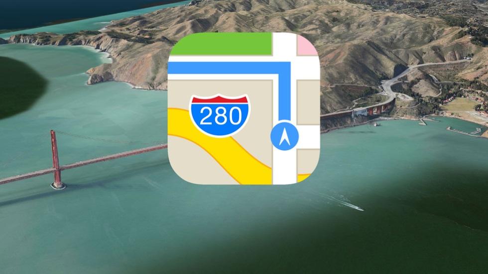 Apple продолжает улучшать карты, ноими по-прежнему мало кто пользуется