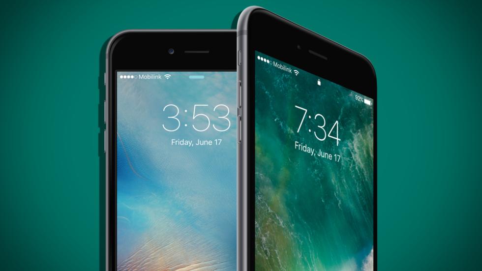 iOS 10beta 8против iOS 9.3.5— кто быстрее?