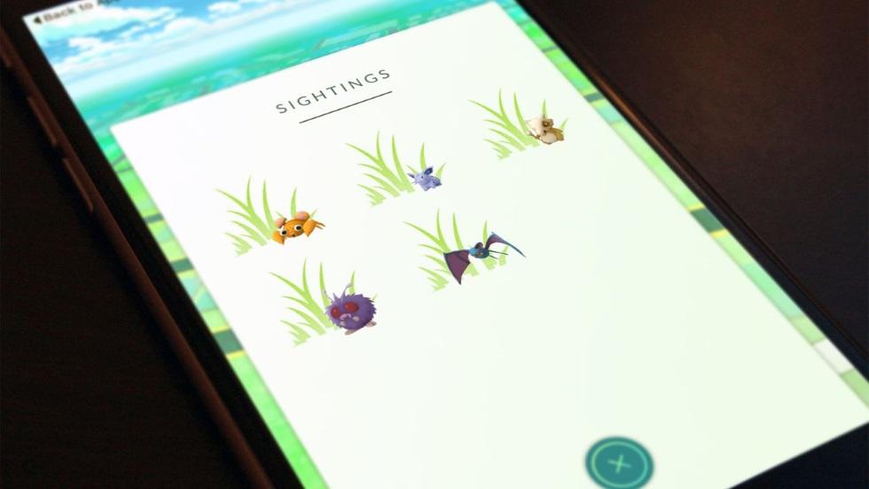 Pokemon GOвновь показывает расположенных рядом покемонов, теперь более точно