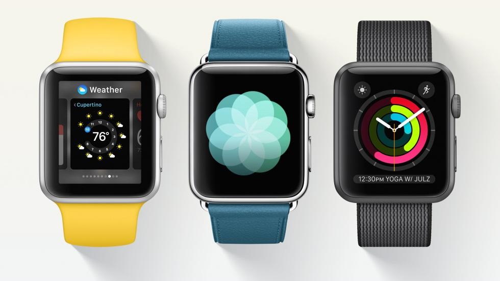 Осенью Apple выпустит сразу две новые модели Apple Watch