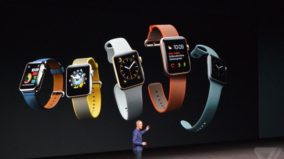 Apple анонсировала Apple Watch Series 2