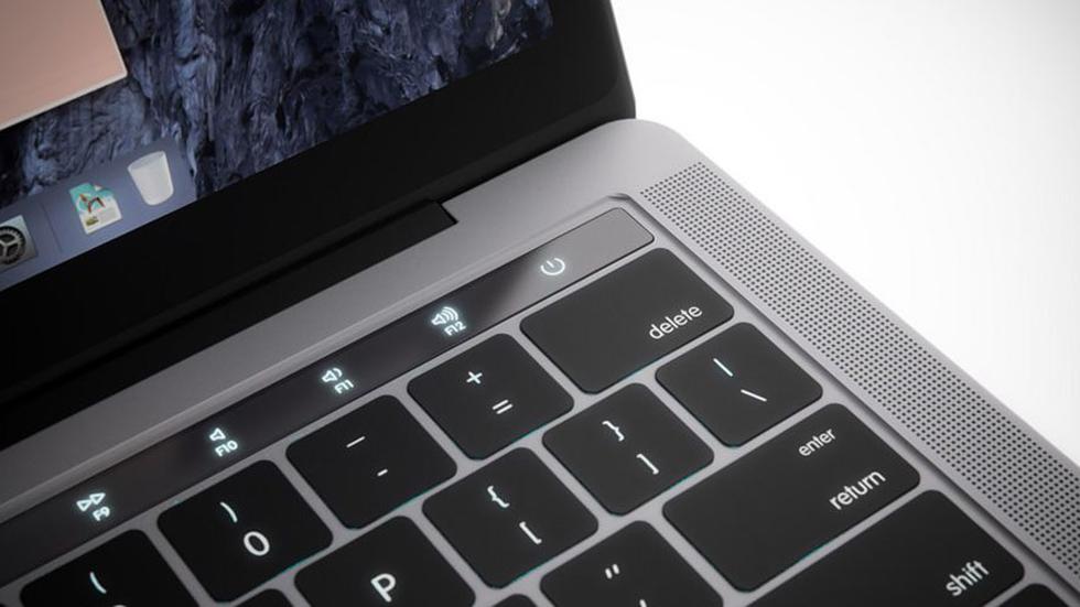 Изображения нового MacBook Pro спанелью Magic Toolbar иTouch IDнайдены вmacOS Sierra10.12.1