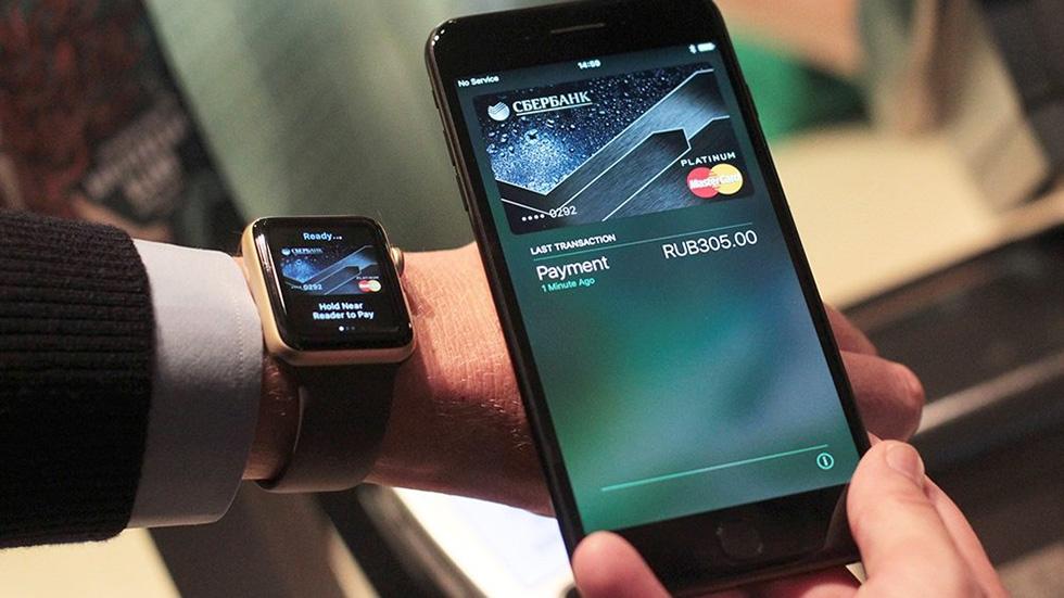 Apple Pay вРоссии активно используется, нодля мелких покупок